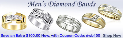 MEN'S DIAMOND BANDS