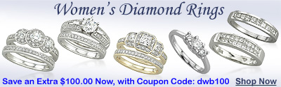 WOMEN'S DIAMOND RINGS