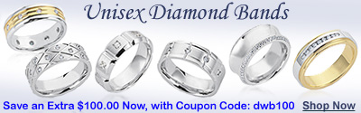 UNISEX DIAMOND BANDS