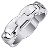 Shop For Men's and Women's White Gold Wedding Band.