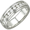 Women's Diamond Ring Style:B886DWW4W-M-L
