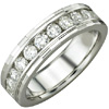 Women's Diamond Ring Style:B900DWW4W-M-L