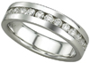 High Quality Diamond Women's Wedding Bands.