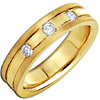 Women's Diamond Ring Style:C804DWW4A-M-L