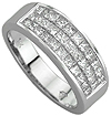 Premium Matching Diamond Wedding Bands Sets.