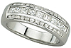 Premium Diamond Women's Wedding Bands.