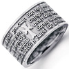 Premium Armenian Christian Sterling Silver Wedding Bands.