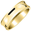High Quality Men's and Women's Yellow Gold Wedding Ring.