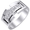 Men's Diamond Ring Style: 1ITRING246W