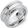Order White Gold Personalized Wedding Bands.