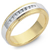 High Quality Men's And Women's Diamond Custom Design Wedding Bands.