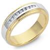 High Quality Men's And Women's Diamond Custom Design Wedding Rings.
