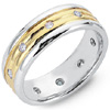 Order Men's And Women's Diamond Custom Design Wedding Bands.