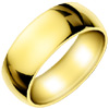 Wedding Band Style:WB-1601-Y 9mm