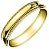 Wedding Band Style:WB-1701-Y 4mm