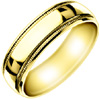 Wedding Band Style:WB-1701-Y 6mm