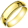 Wedding Band Style:WB-1701-Y 7mm