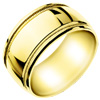 Wedding Band Style:WB-1701-YG 10mm