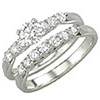 Women's Diamond Ring Style:B141DWR4W-M-L