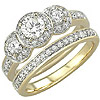 Women's Diamond Ring Style:B773DWR4Y-M-L