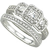 Buy Matching Diamond Anniversary Bands Sets.