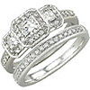 Women's Diamond Ring Style:B774DWR4W-M-L