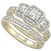 Buy Women's Gold Engagement Bands.