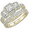Women's Diamond Ring Style:B774DWR4Y-M-L