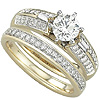 Shop For Women's Gold Engagement Rings.