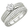 Women's Diamond Ring Style:B776DWR4W-M-L