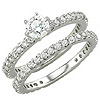 Women's Diamond Ring Style:B904DWR4W-M-L