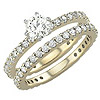 Women's Diamond Ring Style:B904DWR4Y-M-L