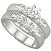 Premium Men's And Women's Diamond Bridal Wedding Bands.