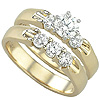 Purchase Women's Diamond Gold Engagement Bands.