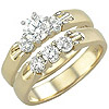 Women's Diamond Ring Style:B905DWR4Y-M-L
