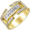 Men's Diamond Ring Style: 5ITRING246YP