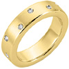Diamond Band Ring Style: DB303701Y 6mm