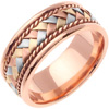 Wedding Band Style: 0128R3CC-8.5mm