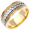 Wedding Band Style: 0135YCW-8.5mm