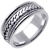 Wedding Band Style: 0139W-8mm