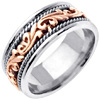 Wedding Band Style: 0227WCR-9mm