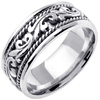 Wedding Band Style: 0228W-9mm