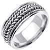Wedding Band Style: 0232W-8mm