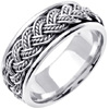 Wedding Band Style: 0236W-8mm