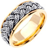 Wedding Band Style: 0237YCW-8mm