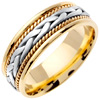Wedding Band Style: 0328YCW-7mm