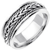 Wedding Band Style: 0332W-7mm
