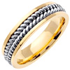 Wedding Band Style: 0335YCW-6mm