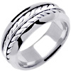 Wedding Band Style: 0342W-8mm