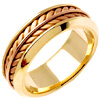 Wedding Band Style: 0343YCR-8mm